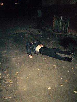 В Мариуполе возле бильярдного клуба убит мужчина (ФОТО+ДОПОЛНЕНО, 18+), фото-1