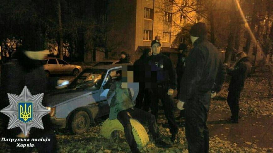 На Салтовке патрульные задержали пьяных автоугонщиков (ФОТО), фото-2