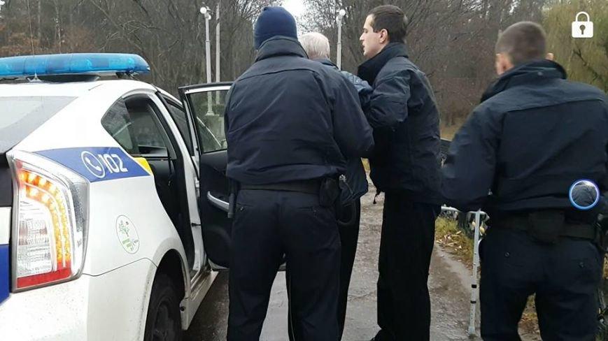 На Журавлевке пенсионер пытался прыгнуть с моста (ФОТО), фото-2