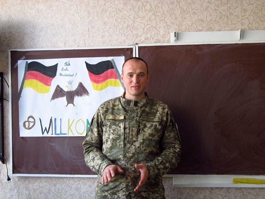 В Бахмутском районе урок немецкого для детей провел… офицер ВСУ, фото-2