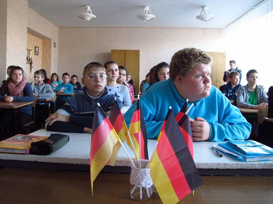 В Бахмутском районе урок немецкого для детей провел… офицер ВСУ, фото-1