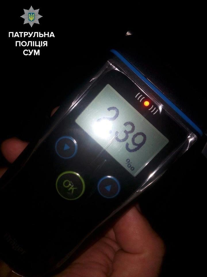 За вечер в Сумах остановили двух пьяных водителей (ФОТО), фото-4