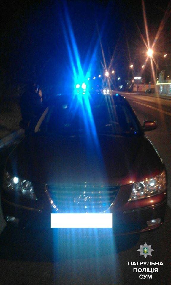 За вечер в Сумах остановили двух пьяных водителей (ФОТО), фото-1