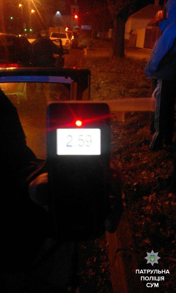 За вечер в Сумах остановили двух пьяных водителей (ФОТО), фото-2