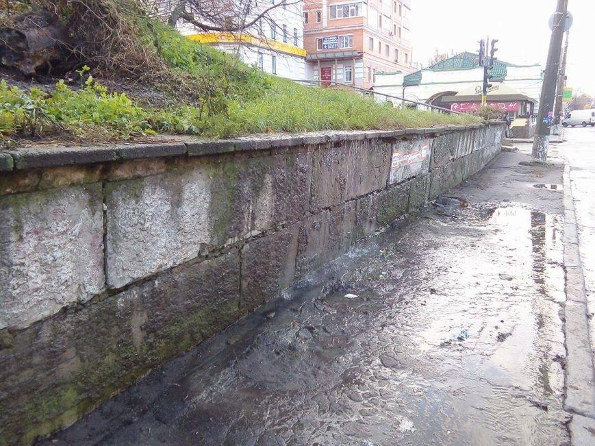 «Водопад» в центре Сум остается без внимания коммунальных служб в течение 2 суток (ФОТО), фото-2
