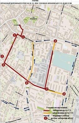 До уваги водіїв ― деякі центральні вулиці завтра будуть перекриті через забіг, фото-1
