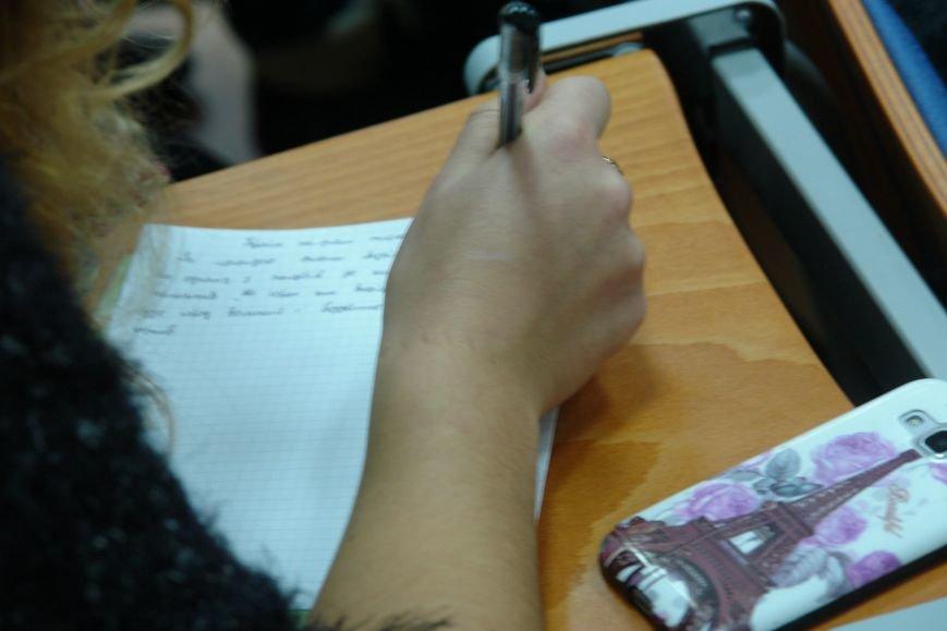 Відомі франківці і студенти писали диктант національної єдності. Фото, фото-15