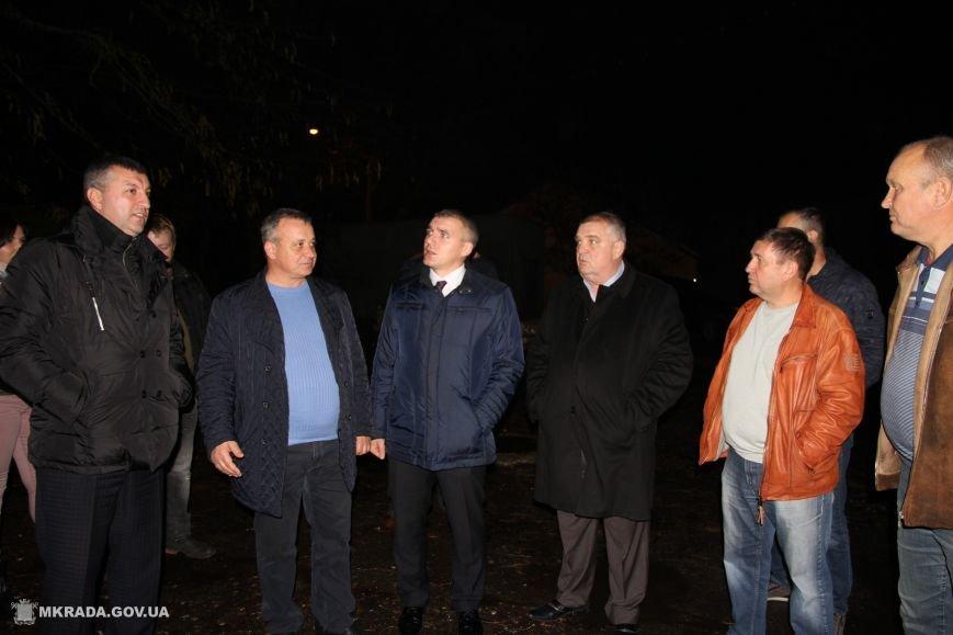 В Николаеве в микрорайоне Леваневцев установили фонари (ФОТО), фото-1