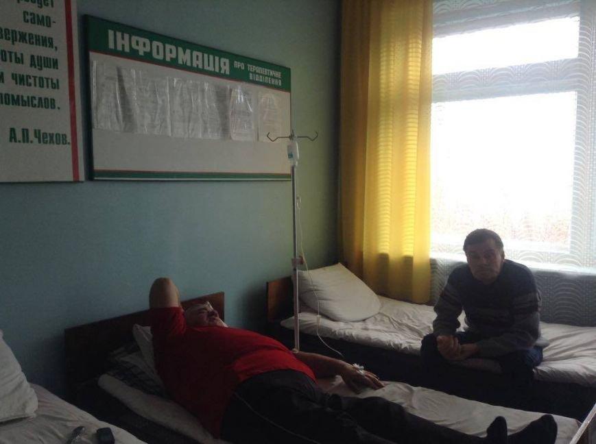 """Медики и пациенты больницы на окраине Мариуполя митинговали против """"силовиков"""" (ФОТО, ВИДЕО), фото-10"""