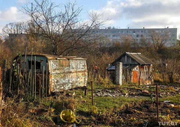 """""""Вот и всё"""". Как сейчас живет незаконный дачный поселок на окраине Гродно, который должны на днях снести, фото-2"""