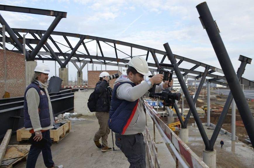 Съемочная группа телеканала Discovery посетила строящийся аэропорт «Платов», фото-3