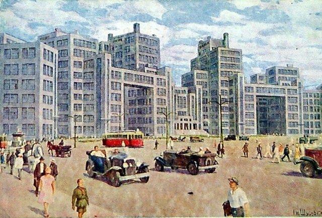 Как строили харьковский Госпром или история первого советского небоскреба, фото-7