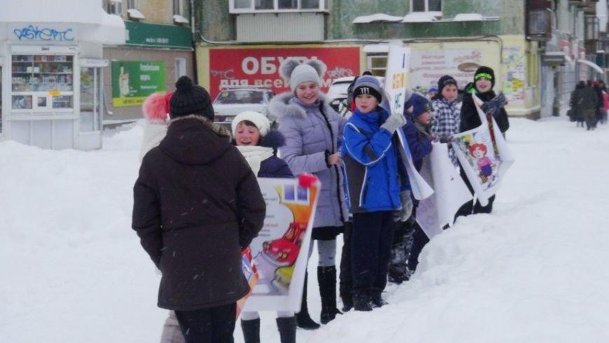 В Полевском прошла акция «Счастливый пешеход», фото-2