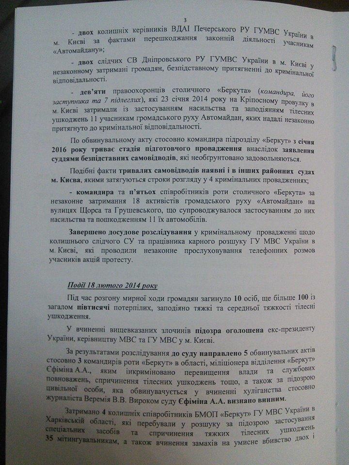 Зі 192-х осіб, яких судять за злочини проти учасників Революції гідності, засуджено лише 35 осіб, фото-4