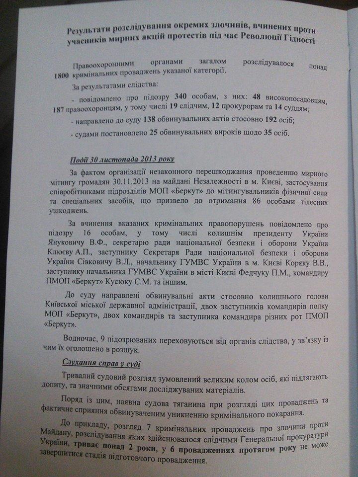 Зі 192-х осіб, яких судять за злочини проти учасників Революції гідності, засуджено лише 35 осіб, фото-2