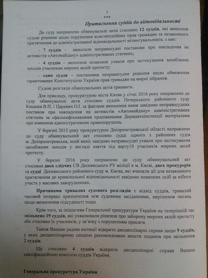 Зі 192-х осіб, яких судять за злочини проти учасників Революції гідності, засуджено лише 35 осіб, фото-8