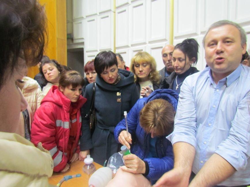 """В Мариуполе медиков """"скорой"""" учили американским приемам (ФОТО+ВИДЕО), фото-6"""