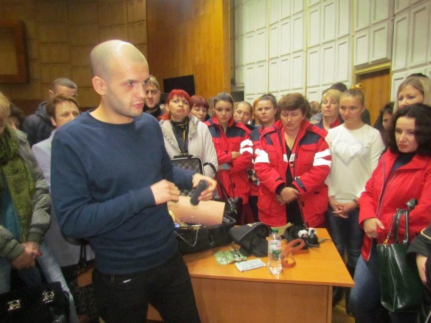 """В Мариуполе медиков """"скорой"""" учили американским приемам (ФОТО+ВИДЕО), фото-5"""