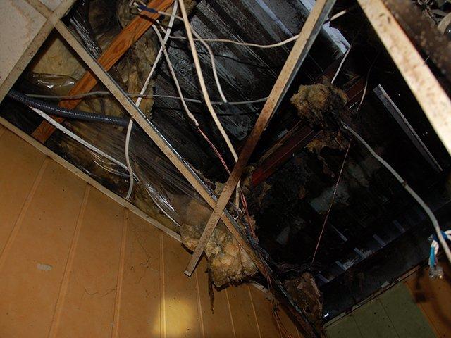 Николаевские спасатели ликвидировали пожар в кафе-баре (ФОТО), фото-1