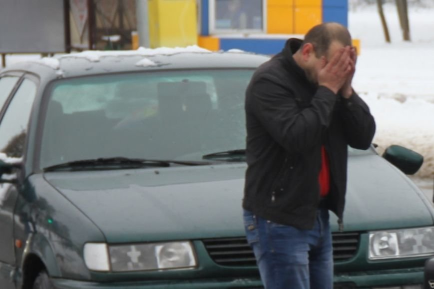 В Лиде водитель Фольксвагена задумался по дороге на техосмотр, поехал на красный свет и сбил пешехода, фото-3