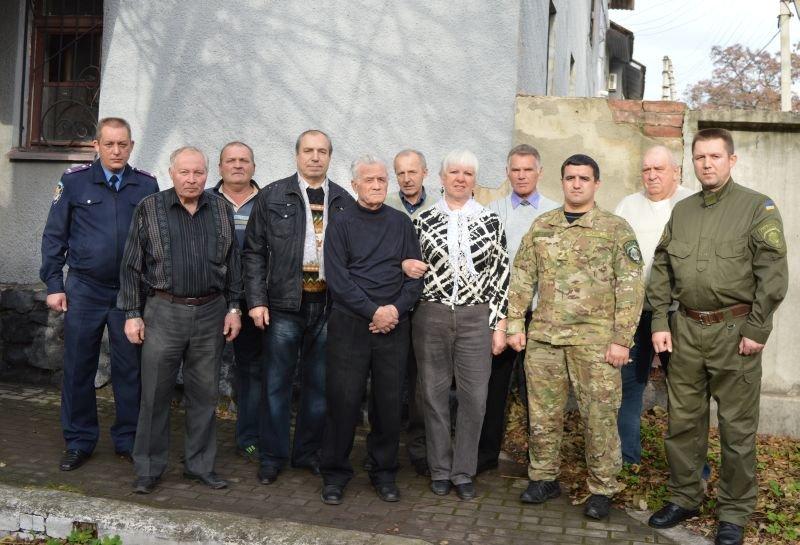 Краматорские правоохранители поздравили своих ветеранов, фото-3