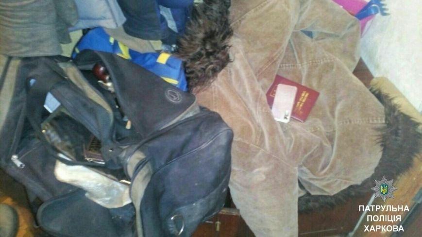 Харьковчанин угрожал своей жене ножом и выгнал ее из дома (ФОТО), фото-3