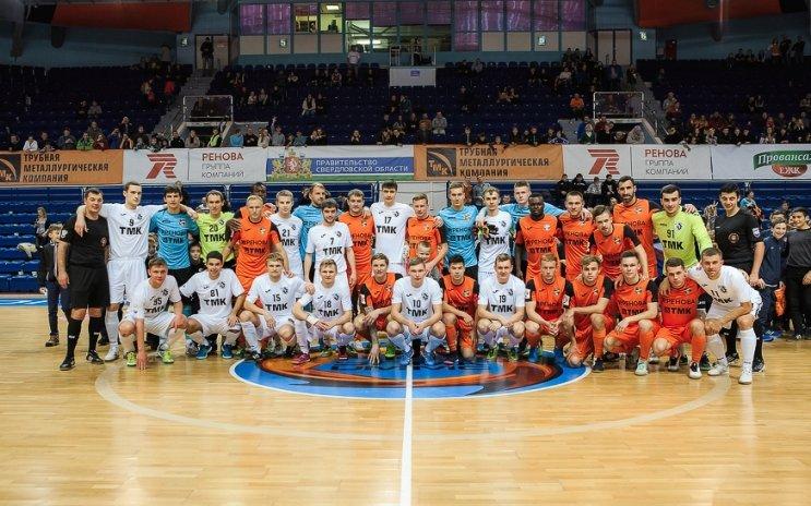 «Урал» и «Синара» провели благотворительный матч, фото-1