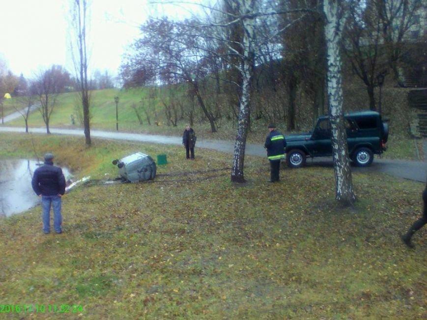 В Сумах быдло сбросило мусорные баки в озеро (ФОТО), фото-7