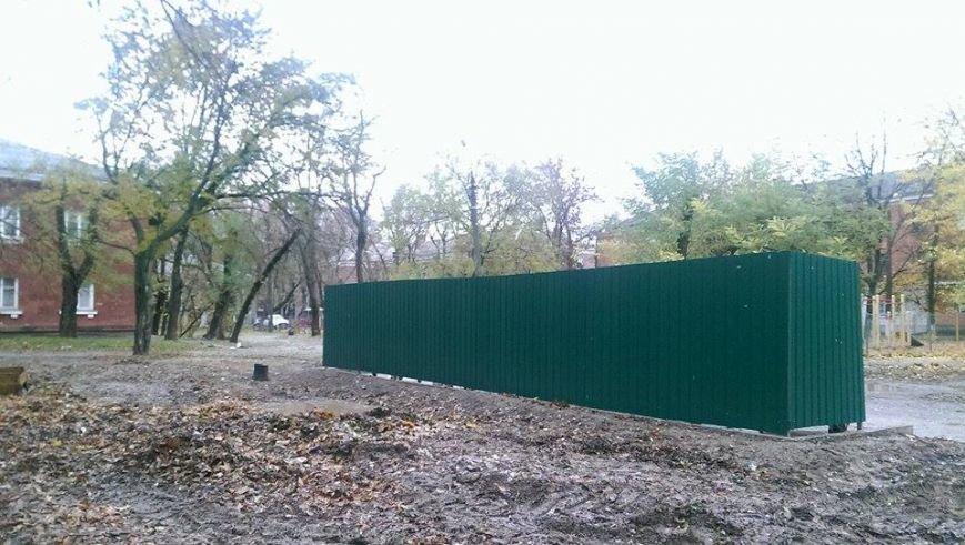 Администрация Ингульского района обустроила еще две контейнерных площадки (ФОТО), фото-1