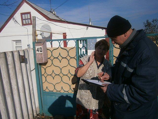 Во время рейда николаевские спасатели напомнили жителям Баштанки правила пожарной безопасности (ФОТО), фото-4