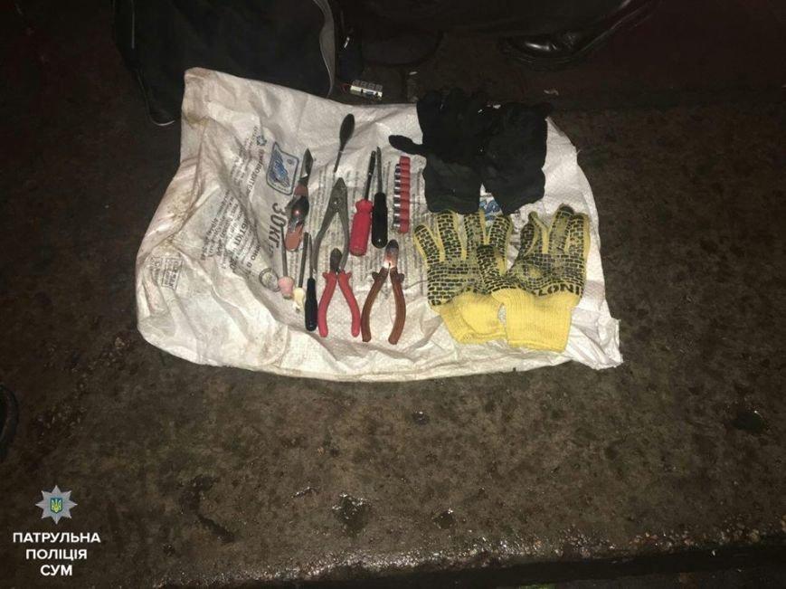 В Сумах задержали подростков, которые подозреваются в кражах из автомобилей (ФОТО), фото-1