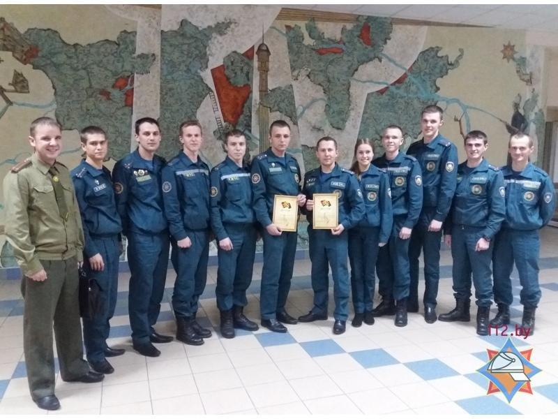 Молодые спасатели Гродненщины стали лучшими на республиканском конкурсе, фото-1