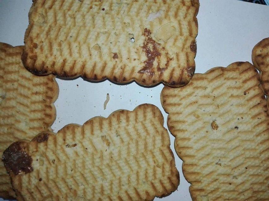 """Печиво з хробаками — """"новий"""" продукт у франківському супермаркеті. Фотофакт, фото-1"""
