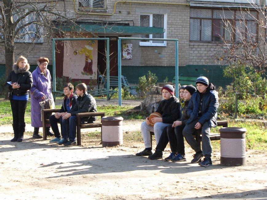 Еще в одном мелитопольском дворе появилась спортивная площадка (фото, видео), фото-3