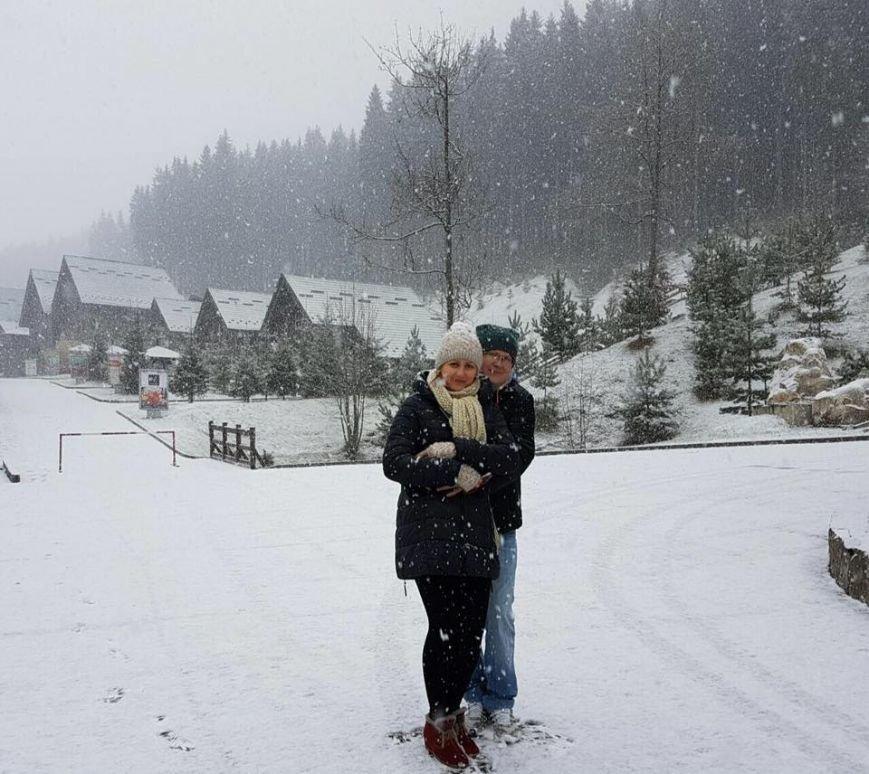 Карпати засипало снігом (ВІДЕО), фото-1