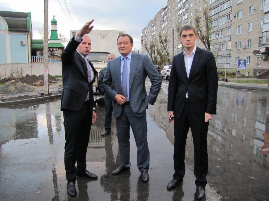 Губернатор в Мелитополе принимал отремонтированную дорогу (фото, видео), фото-8