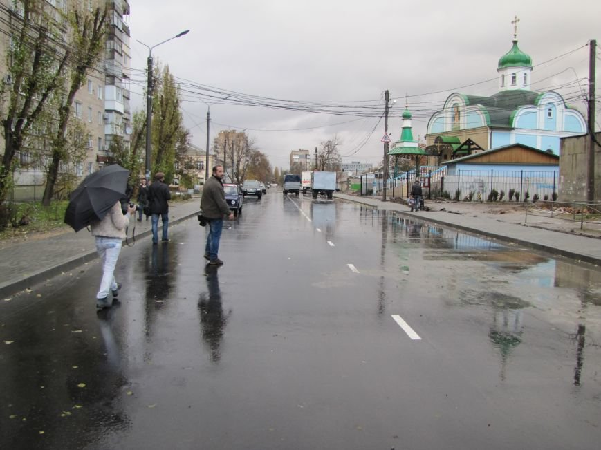 Губернатор в Мелитополе принимал отремонтированную дорогу (фото, видео), фото-6