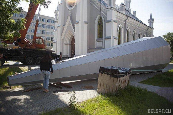 Лютеранская кирха в Гродно: от разрушенных стен и шаткого пола до нового органа и солнечных батарей, фото-3
