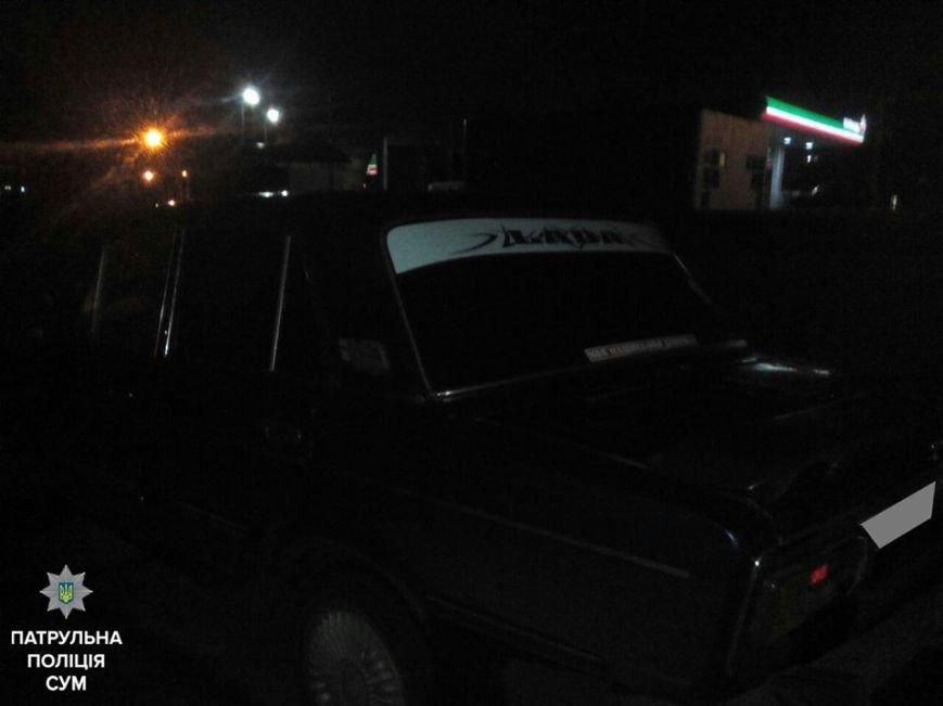 В Сумах патрульные пресекли очередную нетрезвую поездку (ФОТО), фото-2