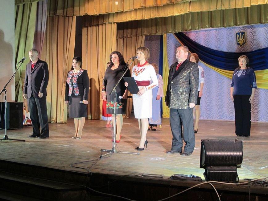 В Бахмутском районе для военнослужащих устроили концерт, фото-12