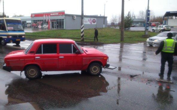 """В трех """"Жигулях"""", попавших в ДТП в Краматорске, есть пострадавшие, фото-4"""