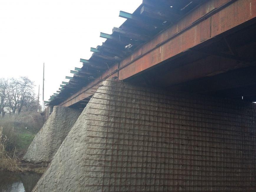 Підготовка до капремонту, міст біля с. Благодатне.