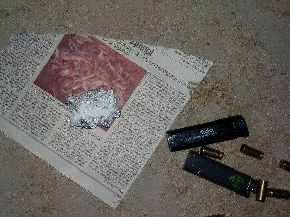 У Хусті арештували наркомана
