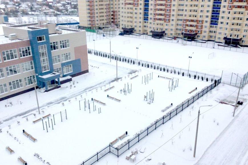 В микрорайоне Западный достроили школу, фото-1