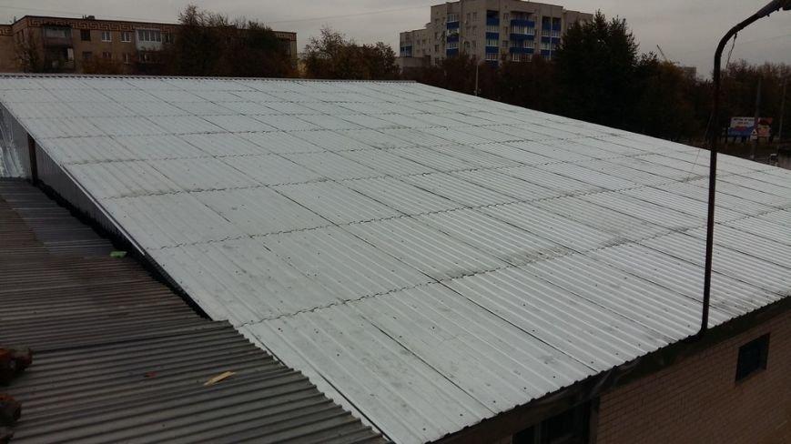 У ДЮСШ №2 провели капітальний ремонт даху, фото-1