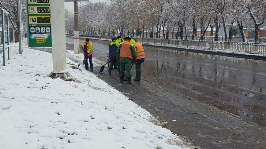 Как николаевские коммунальщики борются с непогодой (ФОТО), фото-4