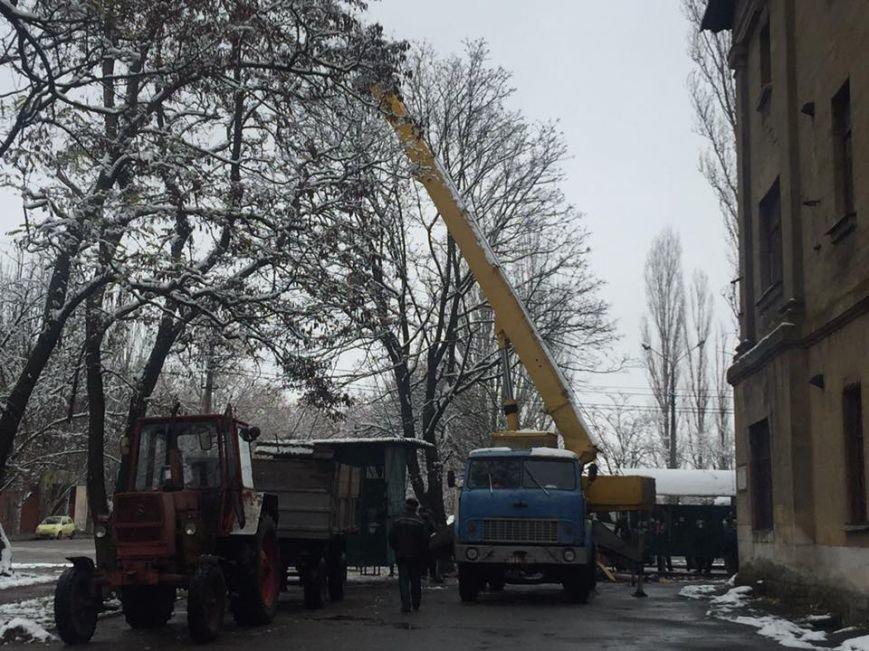 """В Николаеве демонтировали несколько """"Позвонишек"""" возле университета Сухомлинского (ФОТО), фото-1"""