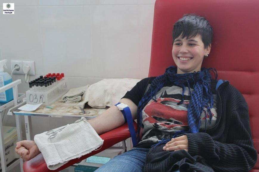 Полицейские Николаева приняли участие в акции «Сдай кровь - спаси жизнь» (ФОТО), фото-1