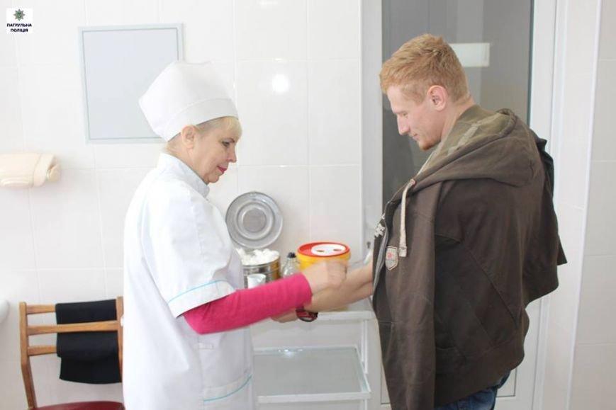 Полицейские Николаева приняли участие в акции «Сдай кровь - спаси жизнь» (ФОТО), фото-2