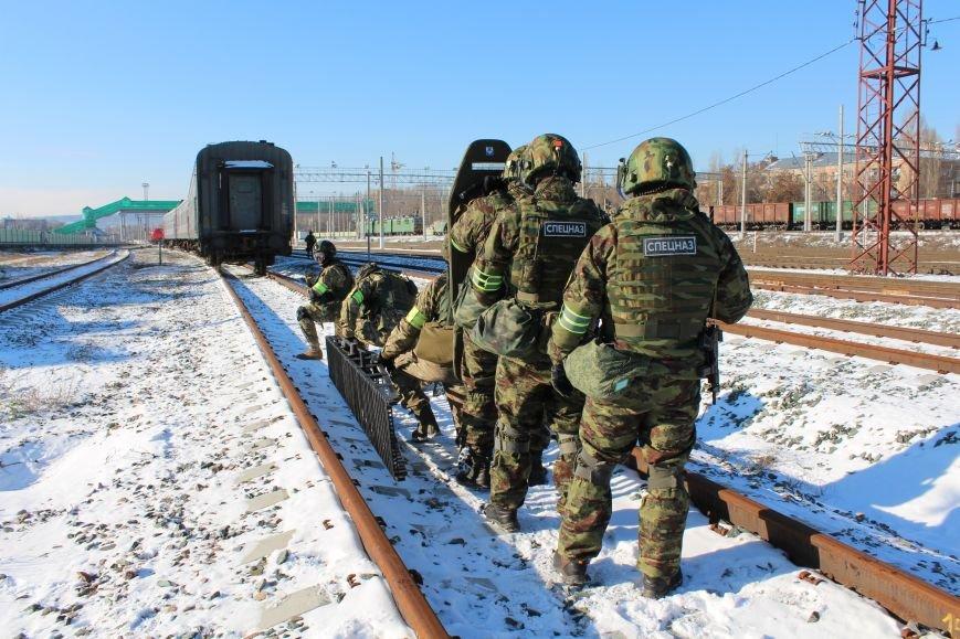 ФСБ Саратова провели в городе антитеррористические учения, фото-7